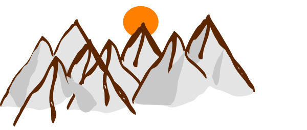 Mountain Range Clipart - Clipart Kid