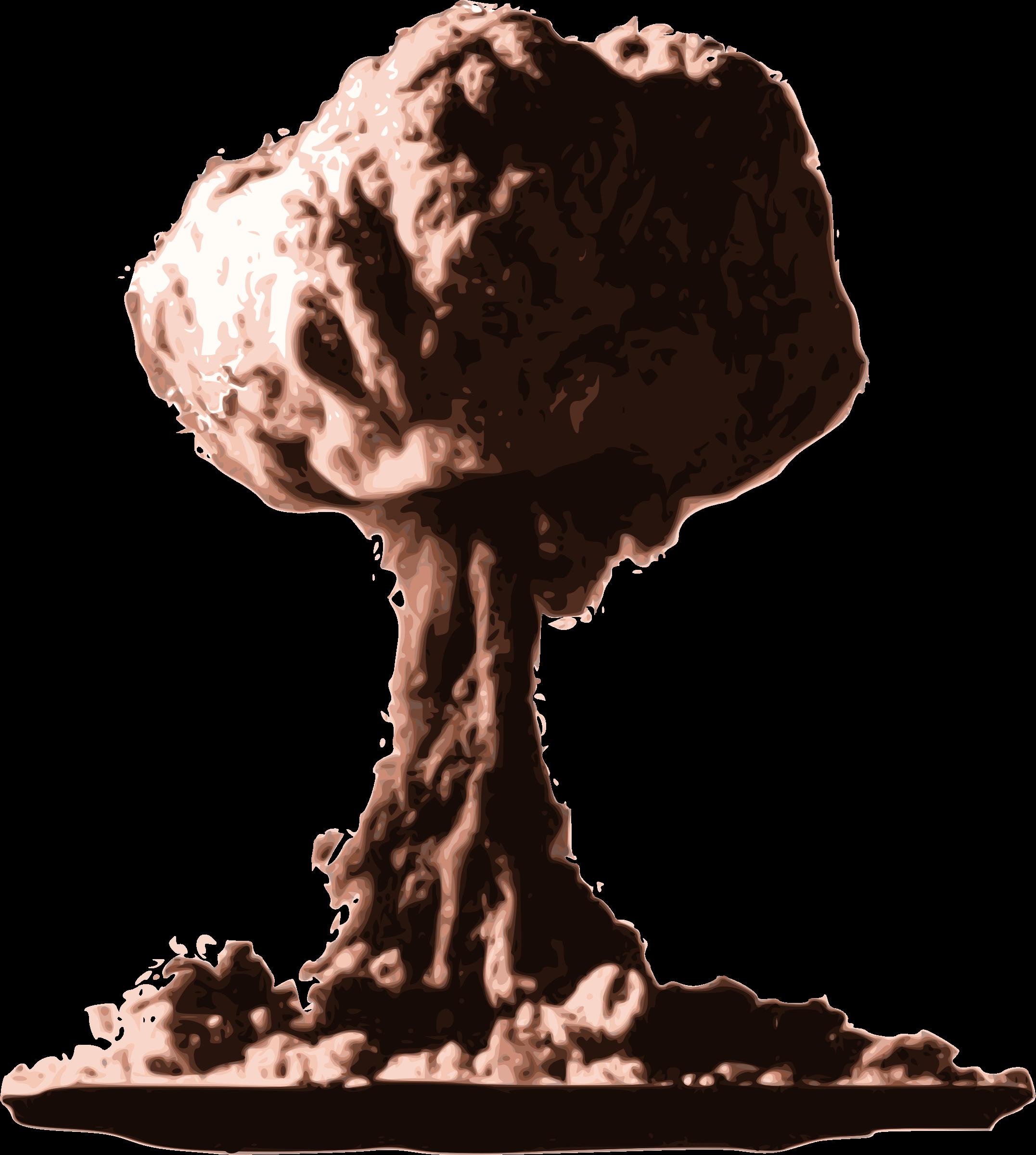 Atomic Mushroom Cloud Clipart - Clipart Kid