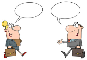 Animated Clip Art of Someone Talking