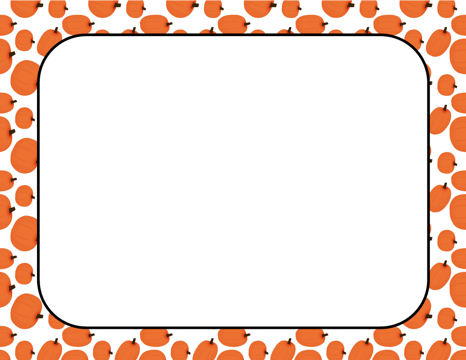 Pumpkin Border Clip Art Displaying 15 Images For Fall Pumpkin Border
