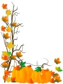 Pumpkin Border Clipart 10430719 Abstract Background With Pumpkins And