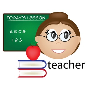 Great Teacher Clipart - Clipart Kid