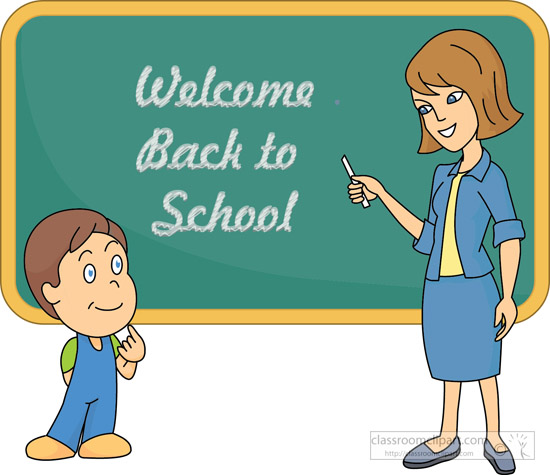 Teacher Chalkboard Clipart - Clipart Kid
