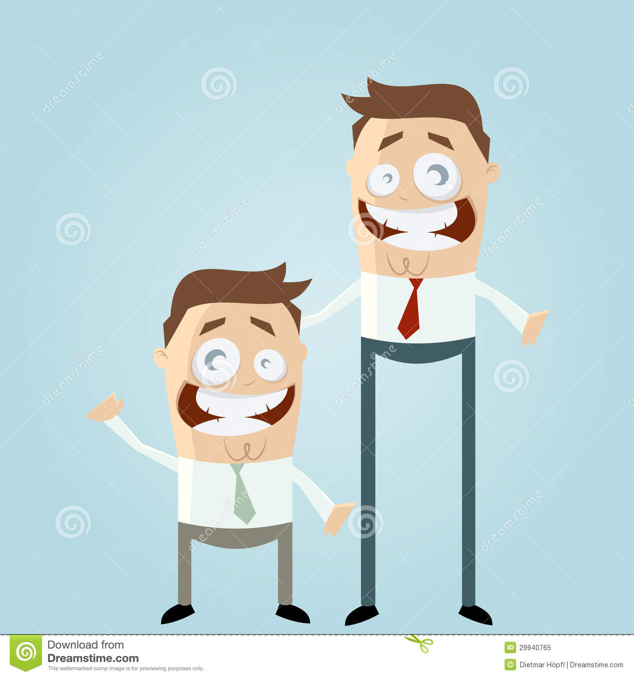 Short And Tall Men Royalty Free Stock Photo   Image  29940765