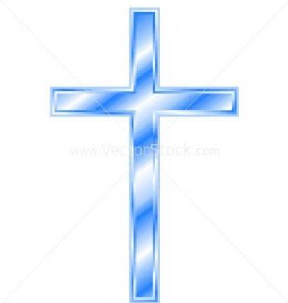 christian cross clip art blue - photo #25