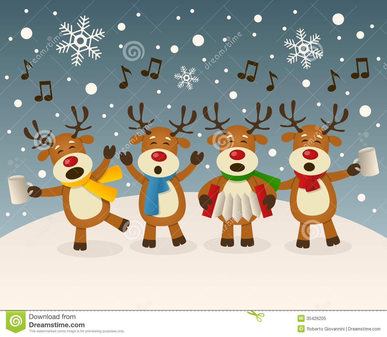 Christmas Scene Clipart - Clipart Kid