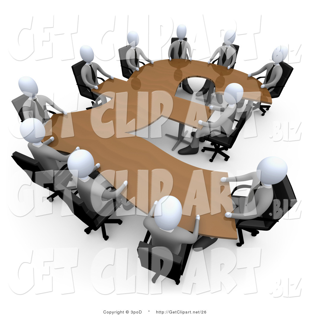 Business People Meeting Clipart - Clipart Kid