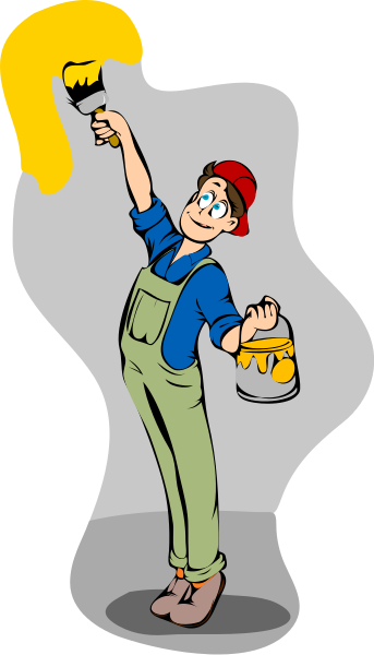 painting wall clipart clipart suggest