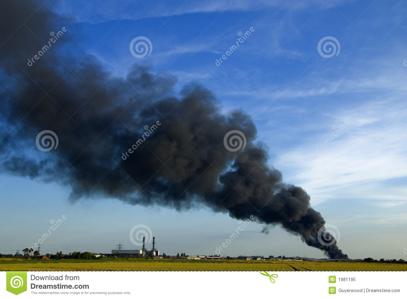 Smoke Plume Royalty Free Stock Photo   Image  1981195