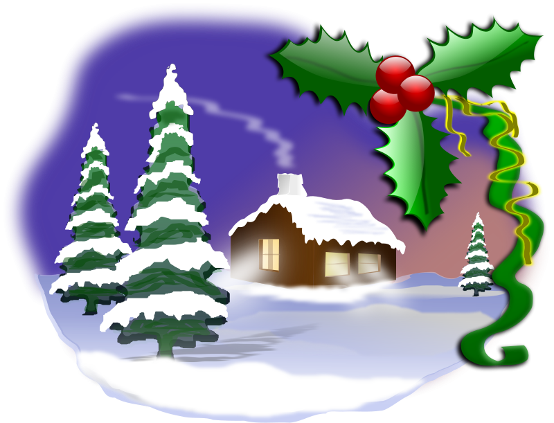 Image result for christmas senses clipart