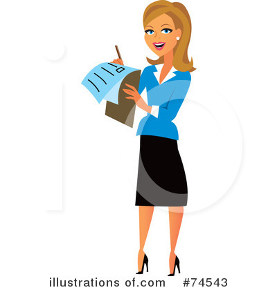 Clip Art Woman Clip Art career woman clipart kid 74543 by monica royalty free rf stock illustrations