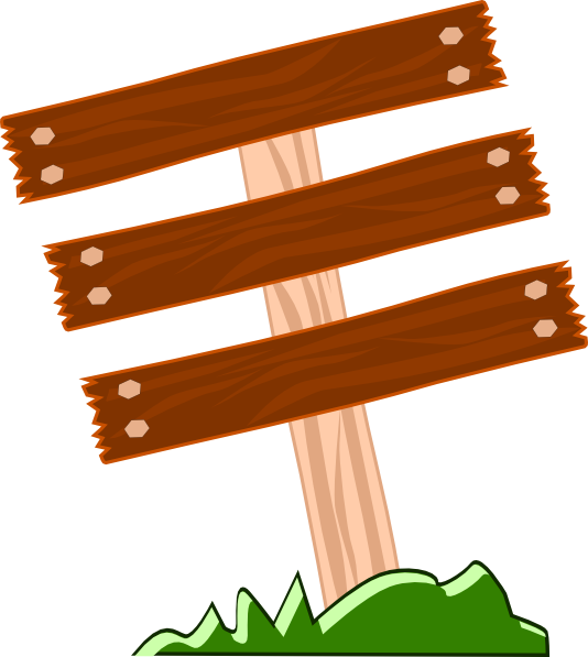 Wood plaque clipart suggest