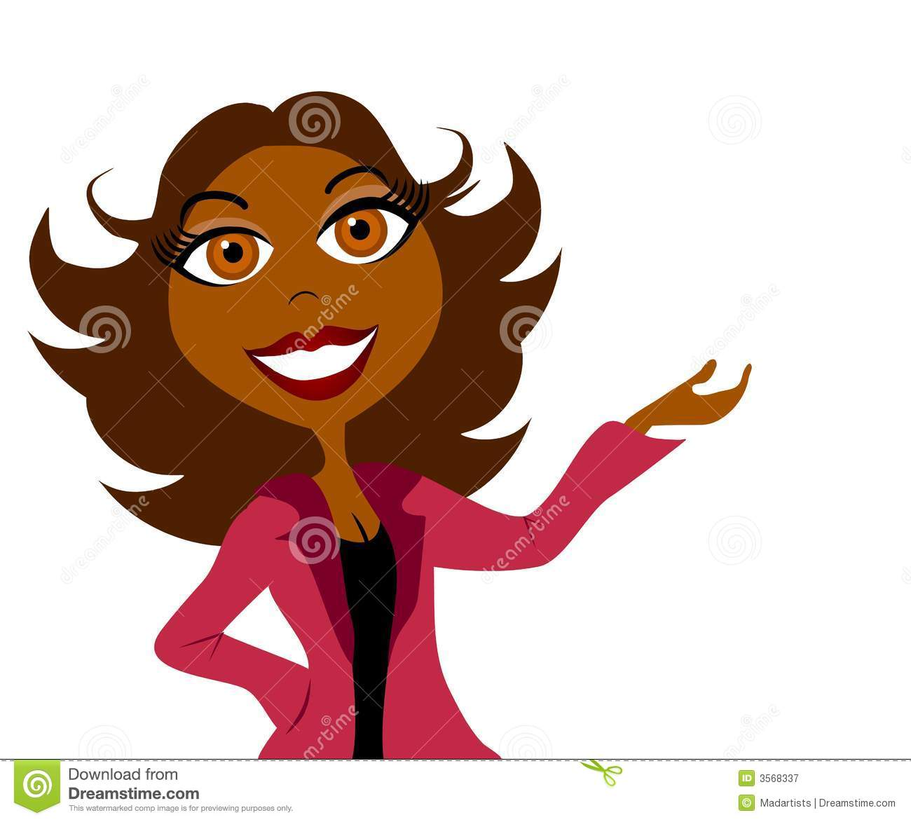 African American Woman Clip Art Pictures to Pin on ...
