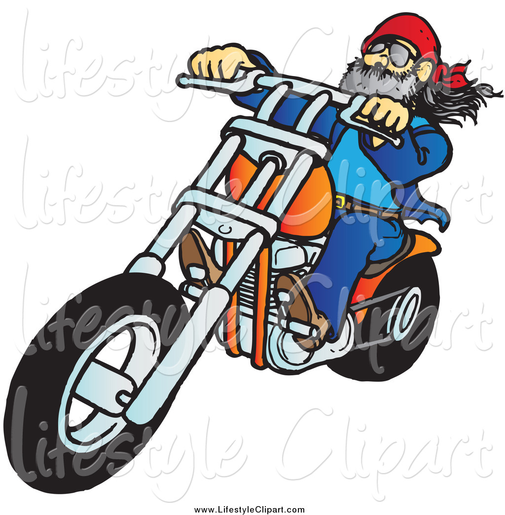 Clip Art Biker Clipart biker clipart kid dude riding his orange chopper lifestyle clip art snowy