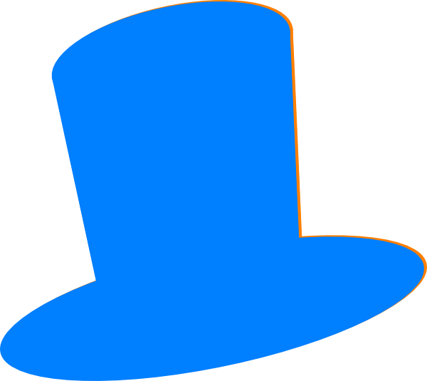 Blue Hat Clip Art At Clker Com   Vector Clip Art Online Royalty Free