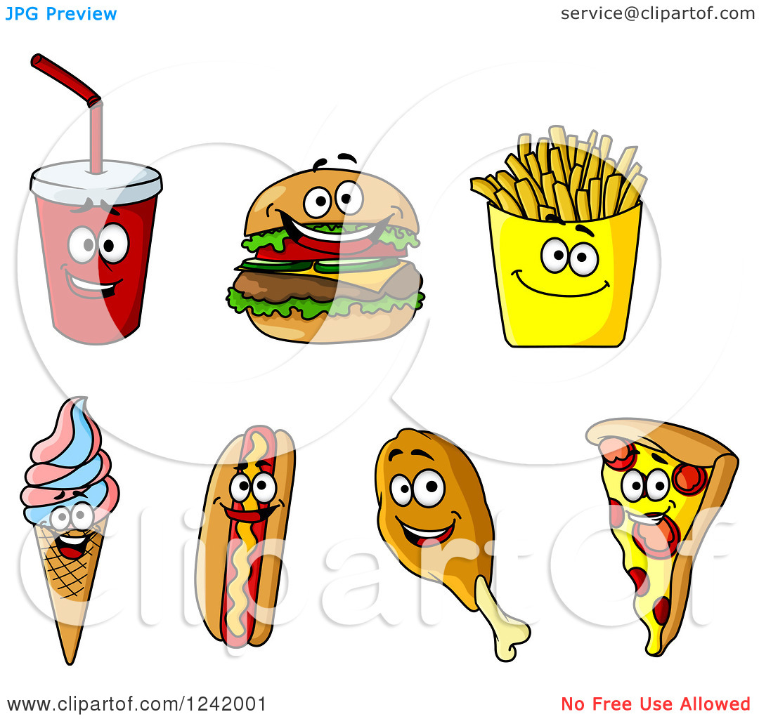 Food Happy Clipart - Clipart Kid