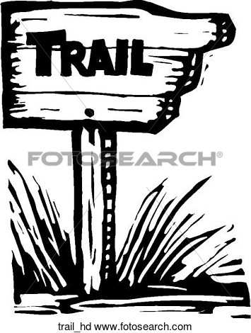 Clipart Of Trail Head Trail Hd   Search Clip Art Illustration Murals