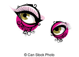 Eye Blink Illustrations And Clipart