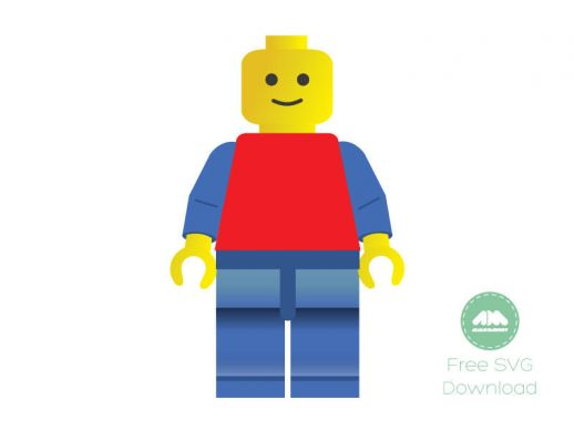 Free Svg Lego Man Vector   Svg   Free Graphics Download