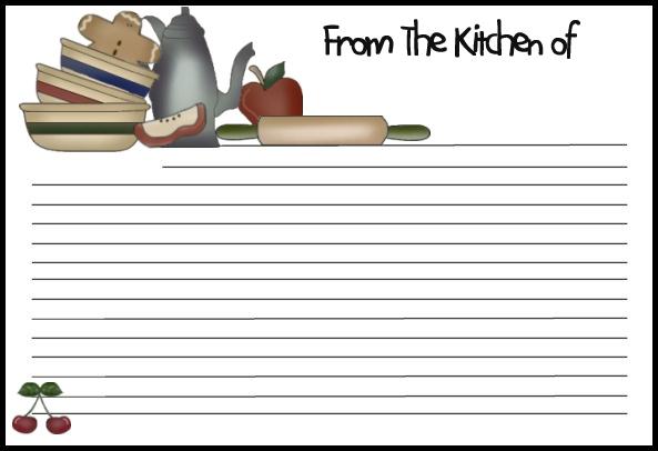 Recipe Border Clipart - Clipart Kid