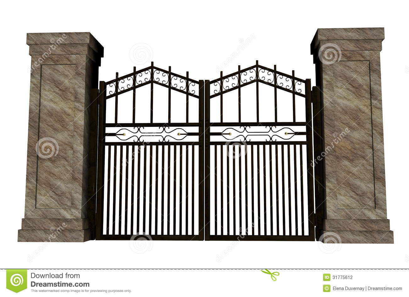 gate closed clipart clipart suggest