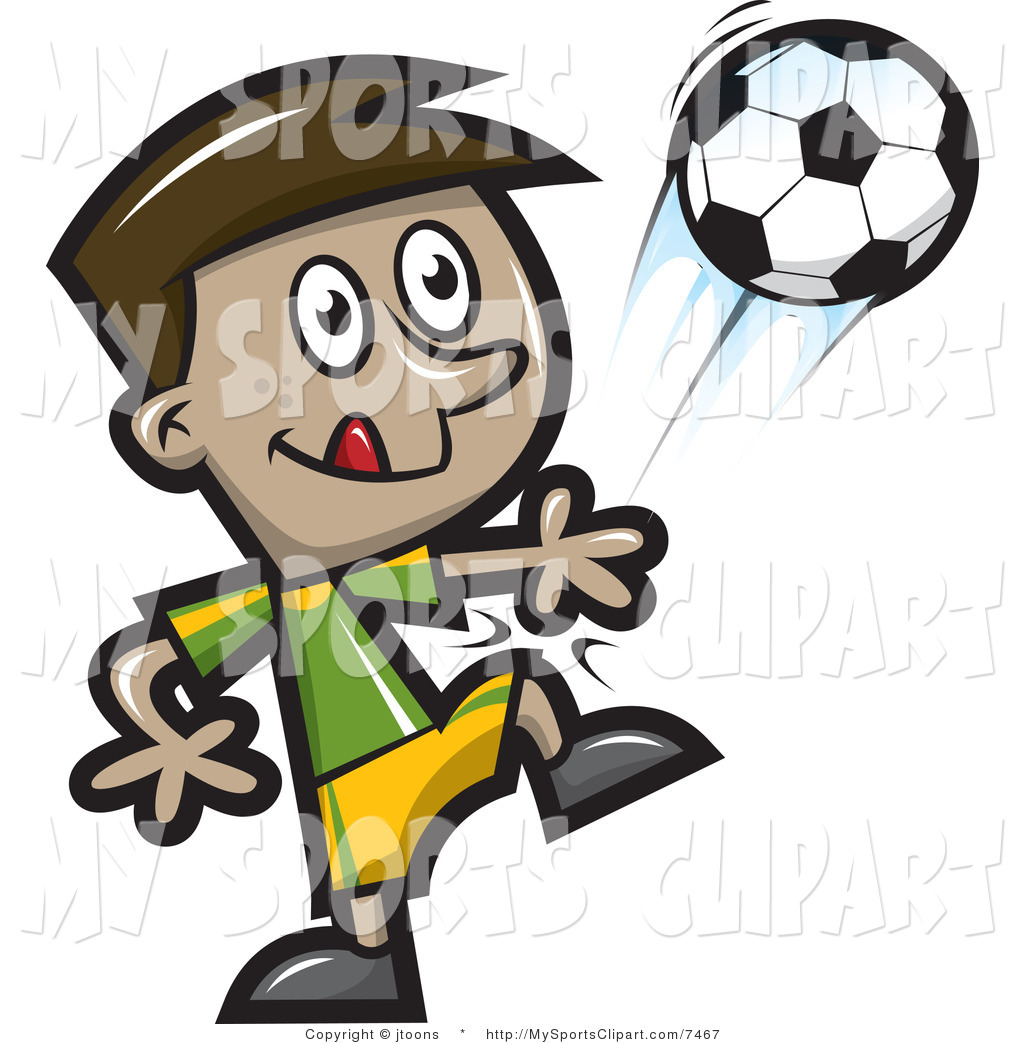 Kids Playing Sports Clipart Playing Soccer Clip Art