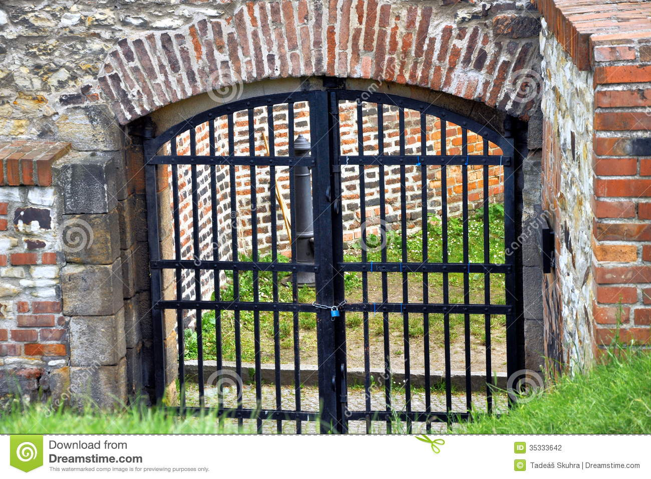 Old Gate Stock Photography   Image  35333642