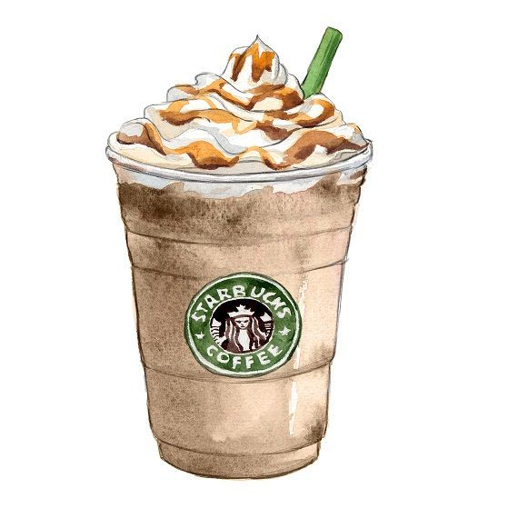 Cartoon Starbucks Clipart - Clipart Kid