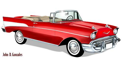57 chevy clipart clipart suggest Chevy Clip Art 1957 Chevy Art and Graphics