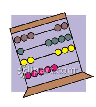 Abacus Clip Art   Royalty Free Clipart Illustration