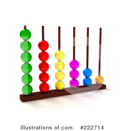 Abacus Clipart  222714   Illustration By Andresr