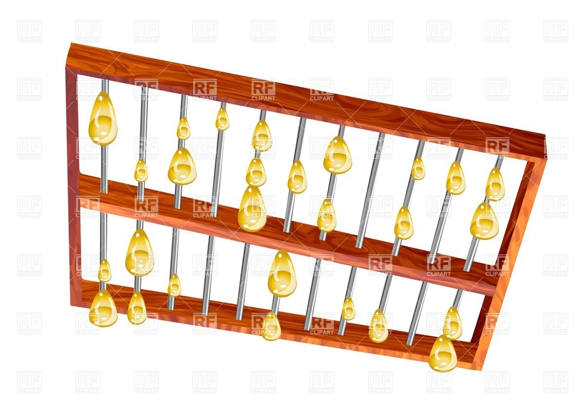 Abstract Abacus Objects Download Royalty Free Vector Clip Art  Eps