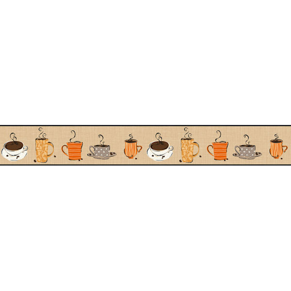 Coffee Border Clipart - Clipart Kid