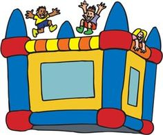 Clip Art Bounce House Clip Art bounce house clipart kid party ideas on pinterest houses clip art and