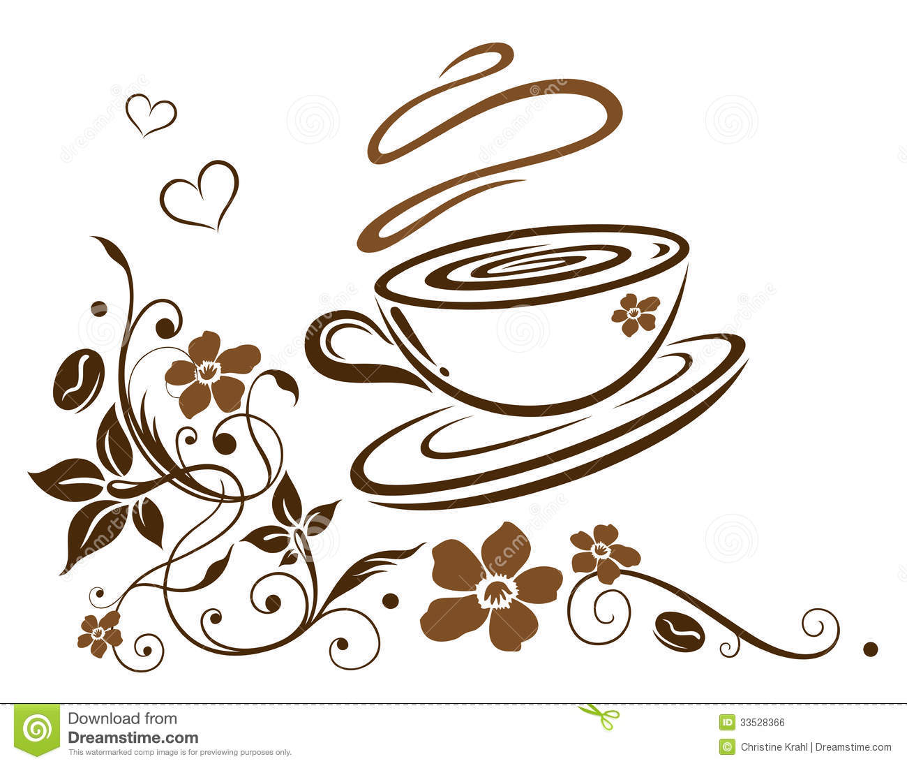 Coffee Border Clipart Clipart Suggest