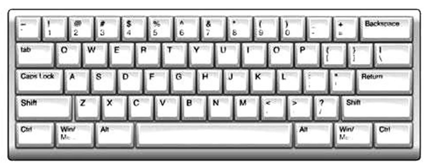 Line Art Keyboard : Computer keyboard clipart suggest