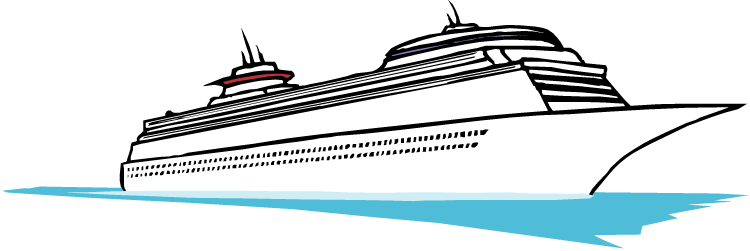 Cruise Ship Clip Art Free   Clipart Best