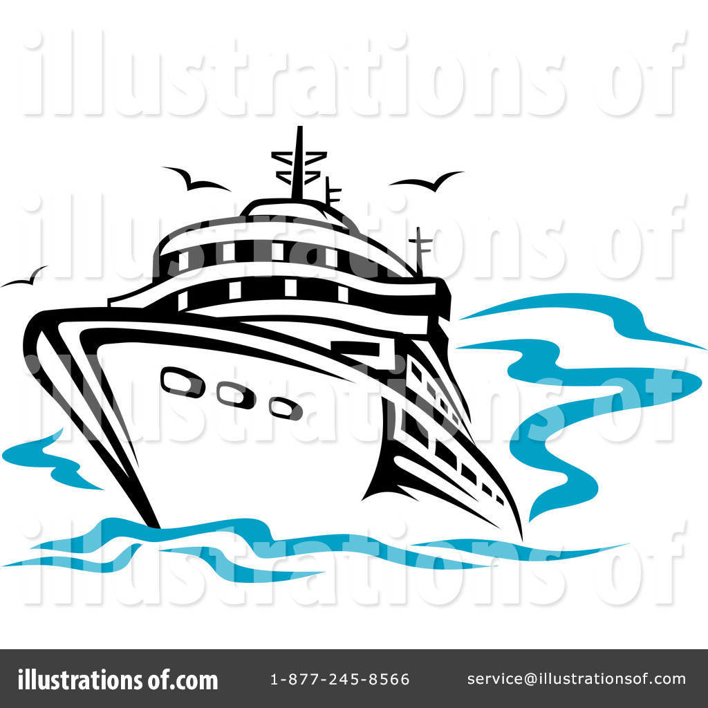 free clip art cartoon cruise ship - photo #50