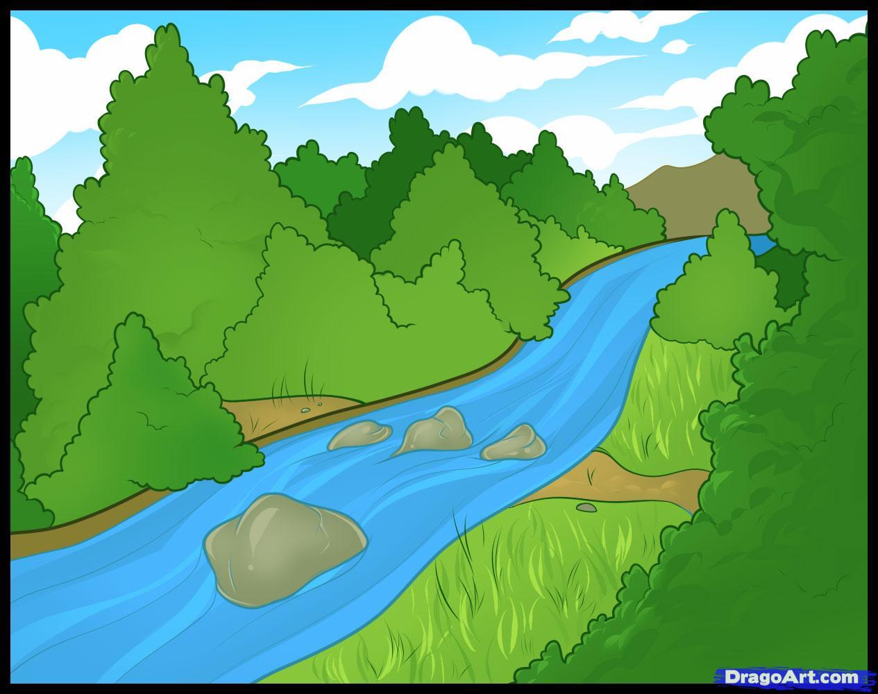 Cartoon River river cartoon clipart - clipart kid