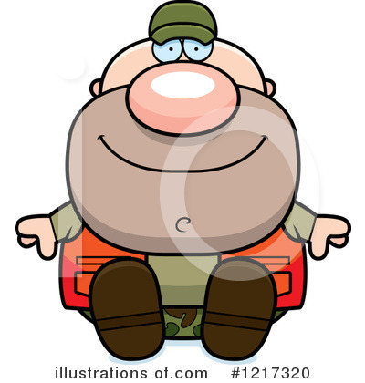 Hunter Clipart  1217320 By Cory Thoman   Royalty Free  Rf  Stock