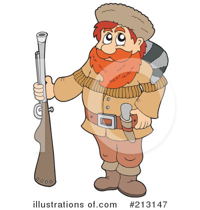 Hunter Clipart  213147 By Visekart   Royalty Free  Rf  Stock