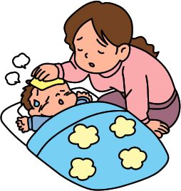 Mother Caring For Sick Baby   Ctworkingmoms