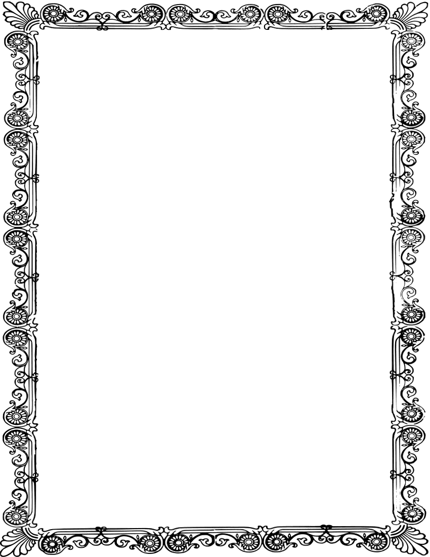 ornate old frame page frames old ornate borders ornate frames
