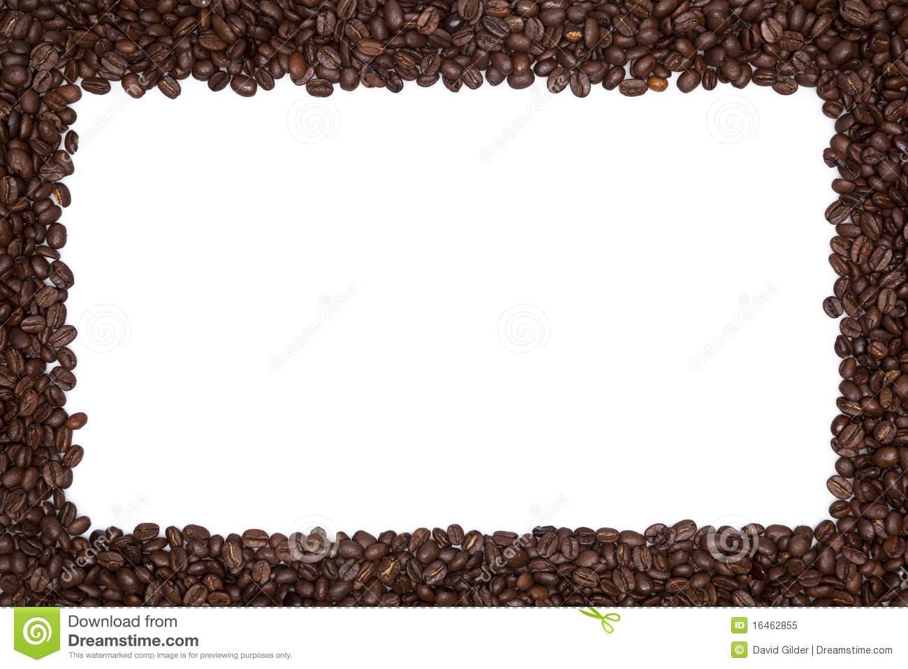 Coffee Bean Border ~ Coffee border clipart suggest