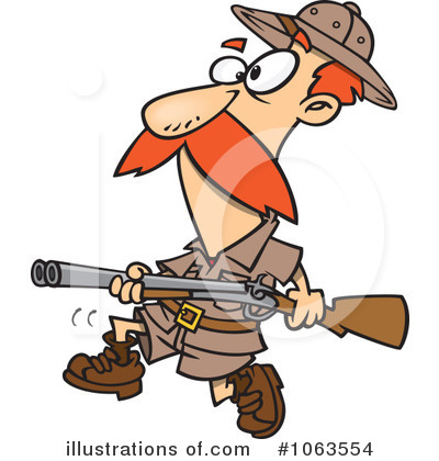 Royalty Free Hunter Clipart Illustration 1063554 Jpg