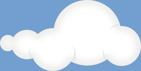 Soft Clouds Sky Clip Art