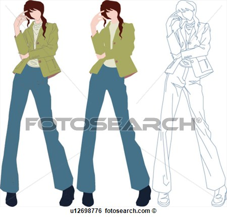 Casual Dress Clip Art - Colorful Dress Images of Archive