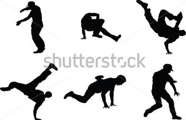 Download Source File Browse   People   The Set Of 6 Dancer Silhouette