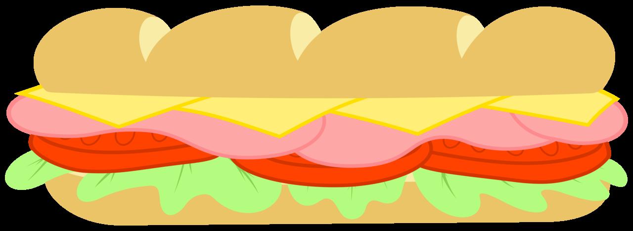 Sub Sandwich Clipart - Clipart Kid