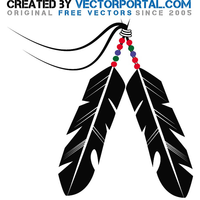 Indian Feather Clipart - Clipart Kid